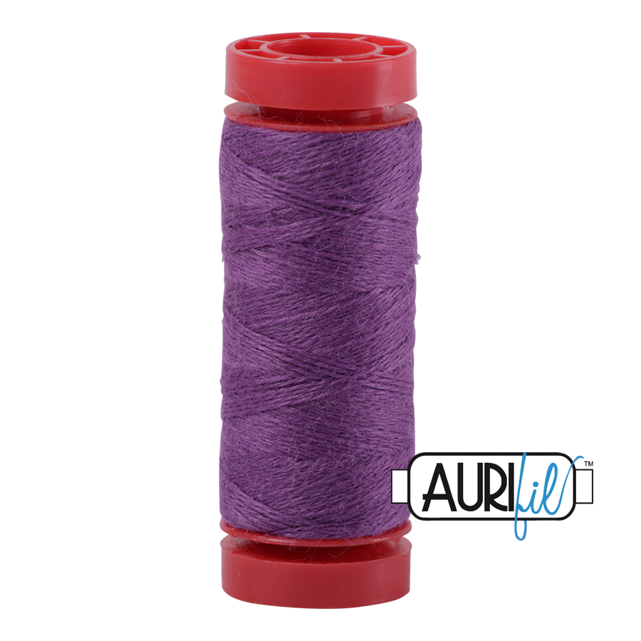 Aurifil ~ 12 wt Lana Wool ~ 8552 ~ Mid Purple
