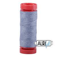Aurifil ~ 12 wt Lana Wool ~ 8757 ~ Heathered Light Blue/Grey