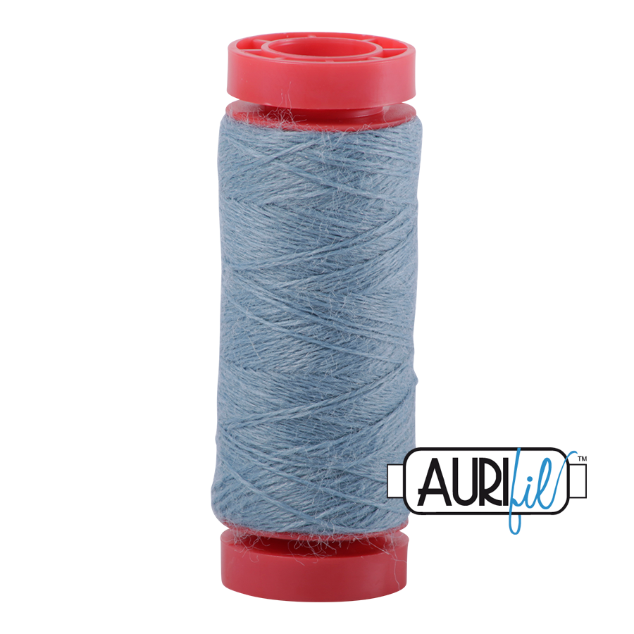 Aurifil ~ 12 wt Lana Wool ~ 8861 ~ Love Bug Blue