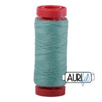 Aurifil ~ 12 wt Lana Wool ~ 8865 ~ Teal