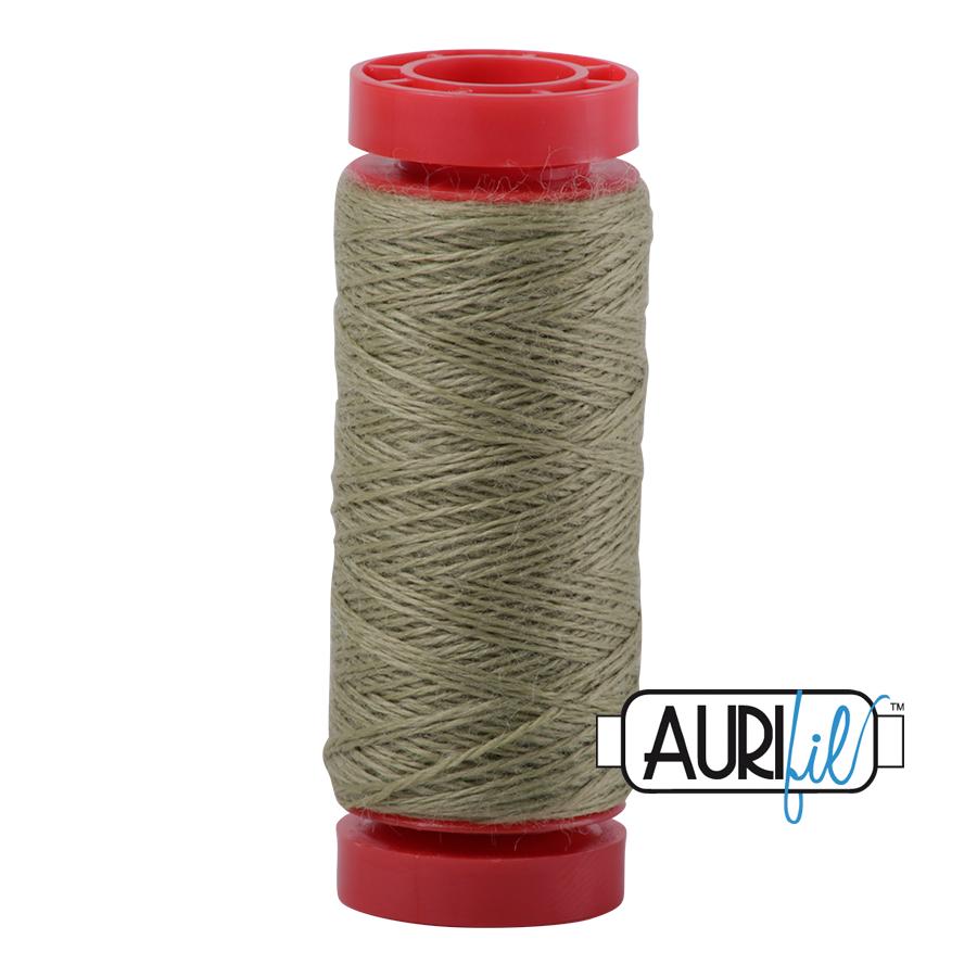 Aurifil ~ 12 wt Lana Wool ~ 8955 ~ Green