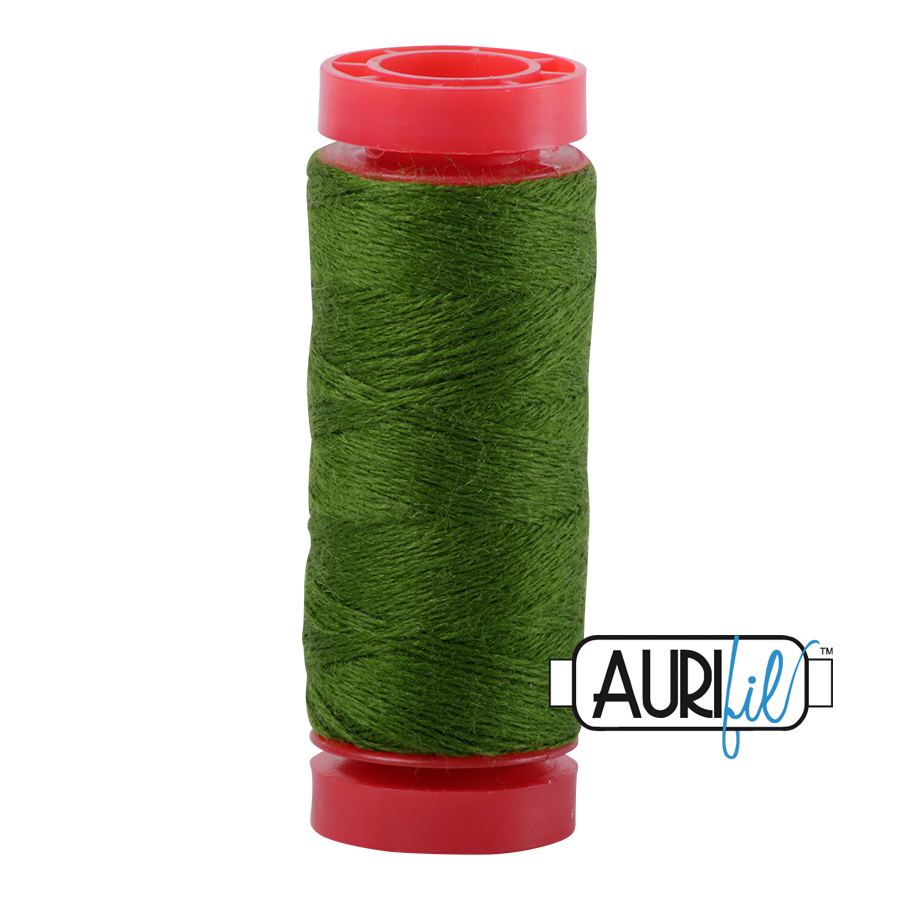 Aurifil ~ 12 wt Lana Wool ~ 8962 ~ Evergreen