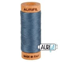 Aurifil ~ 80 wt Cotton ~ 1158 ~ Medium Grey