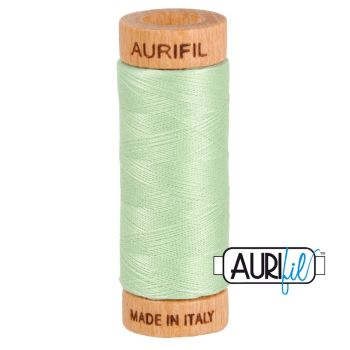 Aurifil ~ 80 wt Cotton ~ 2880 ~ Pale Green