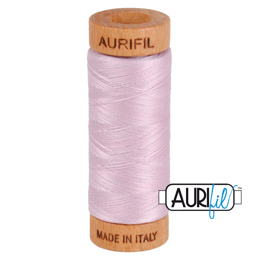 Aurifil ~ 80 wt Cotton ~ 2510 ~ Light Lilac