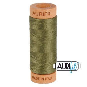 Aurifil ~ 80 wt Cotton ~ 2905 ~ Army Green