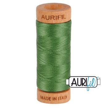 Aurifil ~ 80 wt Cotton ~ 2890 ~ Dark Grass Green