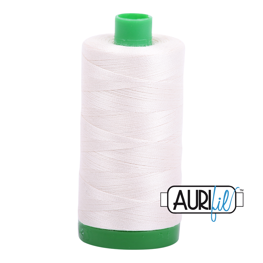 Aurifil ~ 40wt Thread