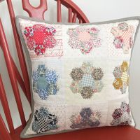 'Happy Hexie Liberty Cushion' Kit & Pattern