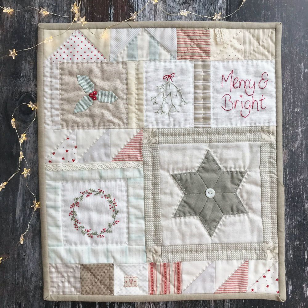 'Merry and Bright' Kit & Pattern