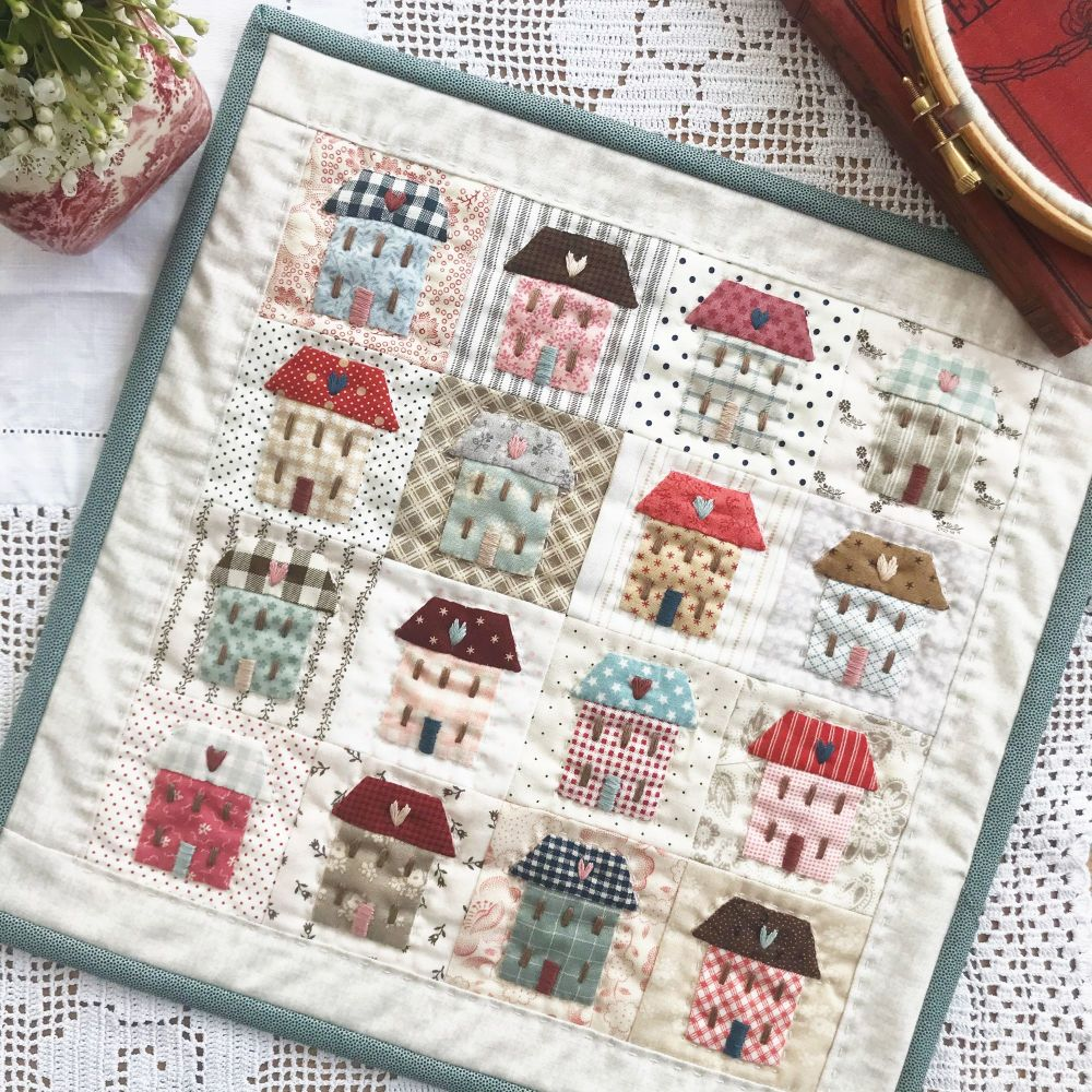 'Little House' Mini Quilt Kit