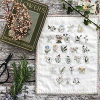 'Floral Alphabet Sampler' Mini Quilt Kit