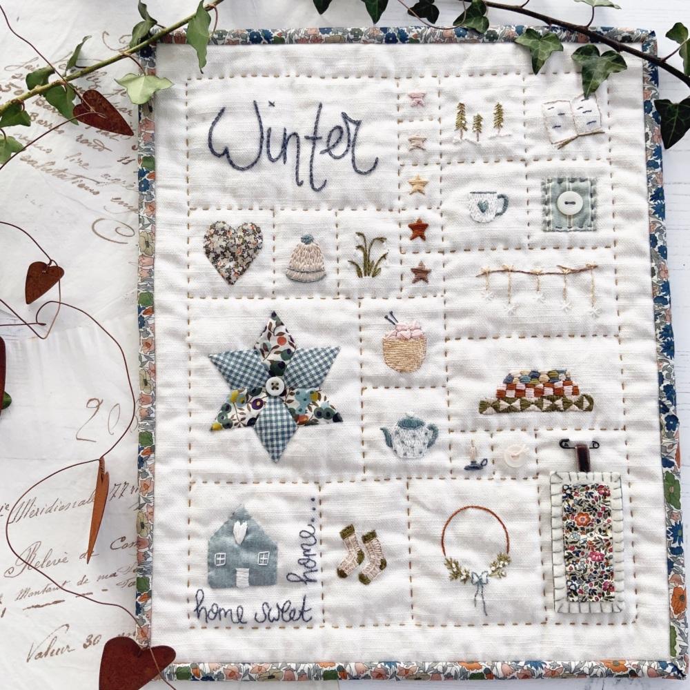 '#sewalittlehappinesseveryday Winter Sampler ' Kit PRE-ORDER