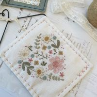 'Filled Floral Heart' Pretty Pastels Kit