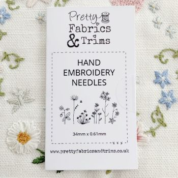 *NEW* Sarah's Favourite Needles for Hand Embroidery