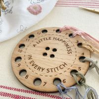 *NEW* A Little Happiness in Every Stitch Thread Organiser