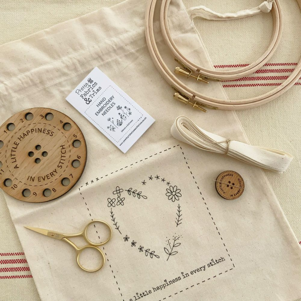 Sarah's Favourite Things for Hand Embroidery Box