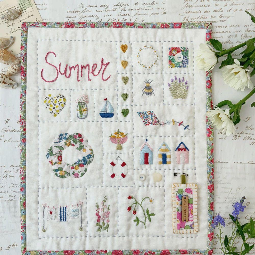 '#sewalittlehappinesseveryday Summer Sampler ' Kit  **PRE-ORDER**