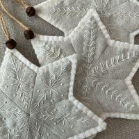 *PRE-ORDER* 'EPP Star Ornaments' Kit (Natural)