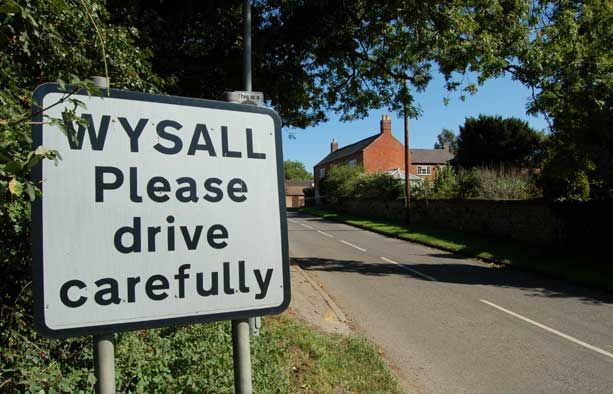 wysall-village-sign