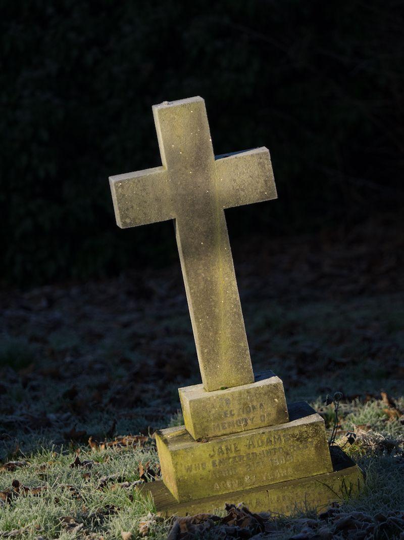 Cross Grave Stone