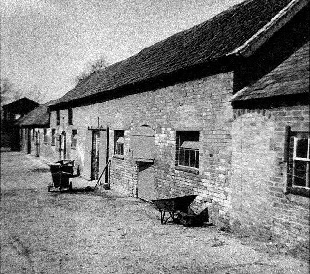 Old Farm Yard in Wysall