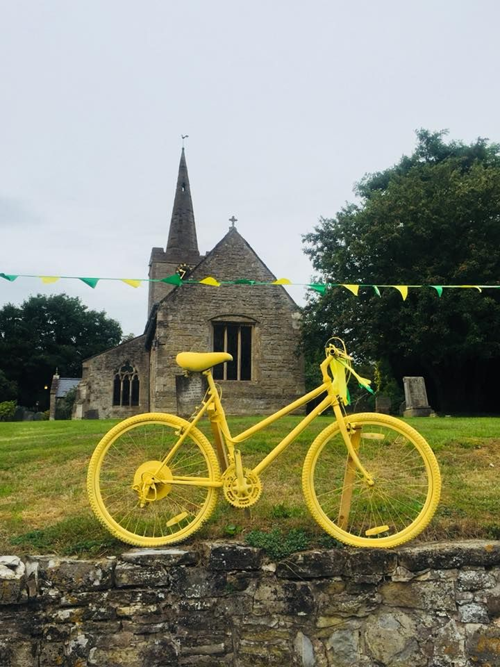bike-and-bunting-by-church