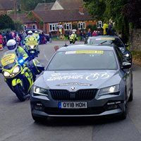 Tour of Britain entourage