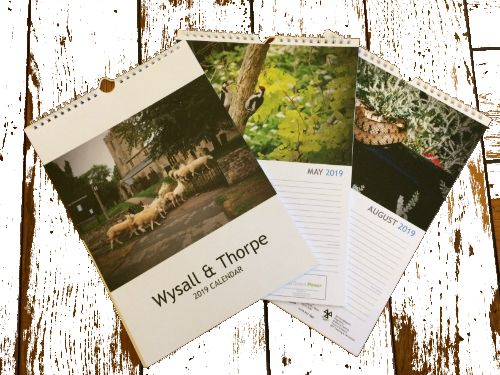 Wysall village calendar