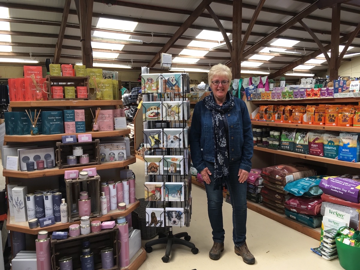 LIndsay Redfern owner at Riseholme Feeds Country Store