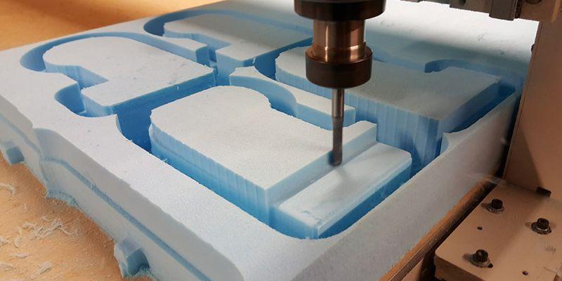Foam Legoman CNC Cutting