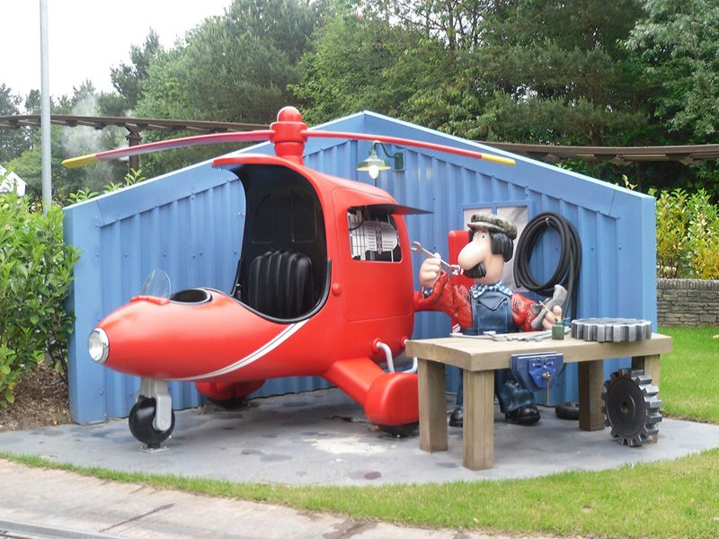 Postman Pat Helicopter Prop
