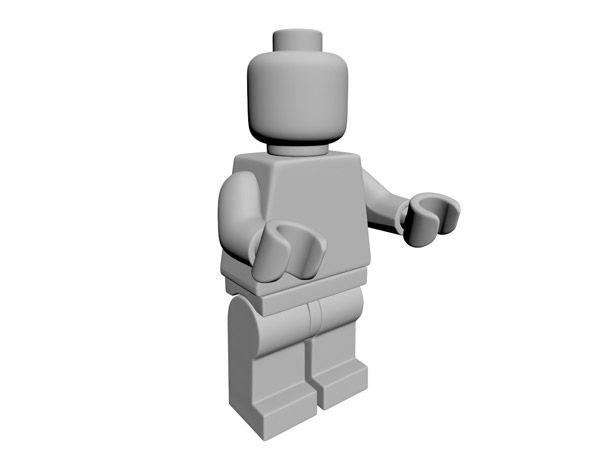 Legoman Model
