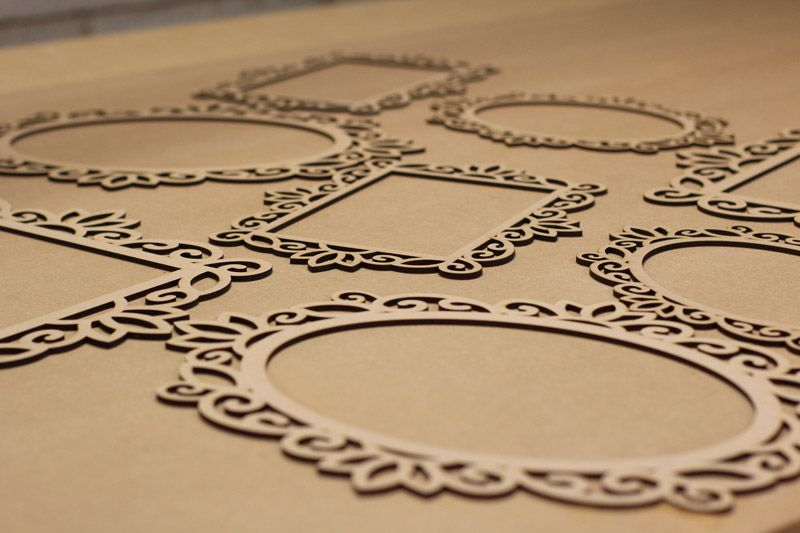 Laser Cut Picture Frames