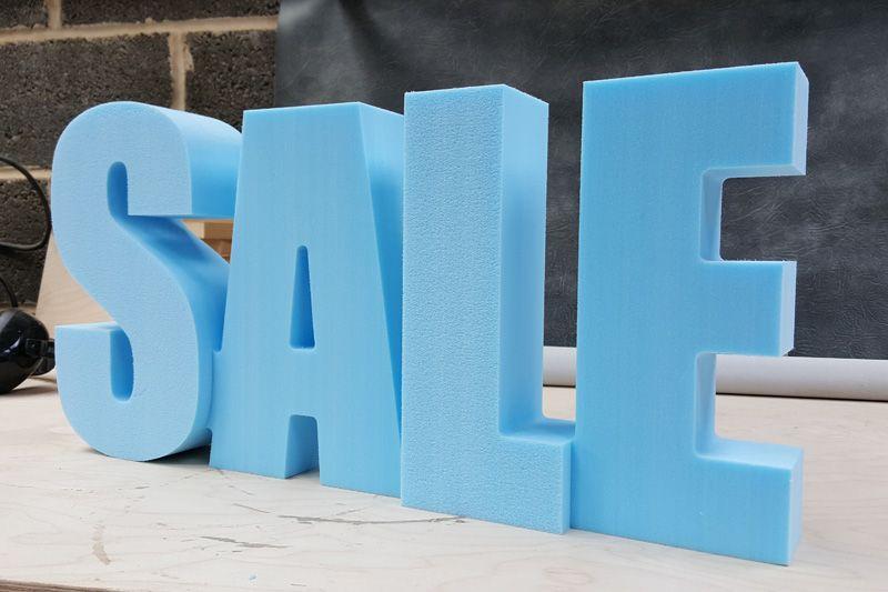 3D SALE Sign