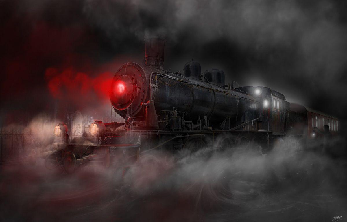 Scream Train Concept Artwork