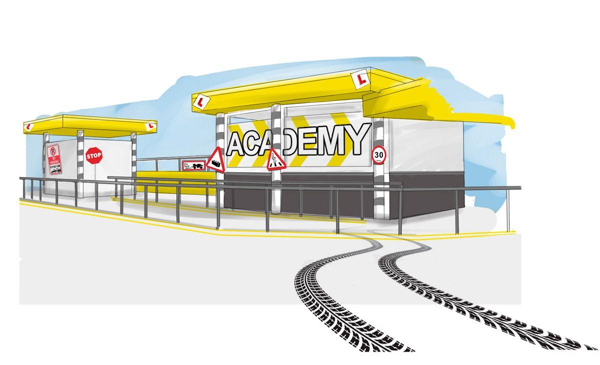Driving School Concept Design