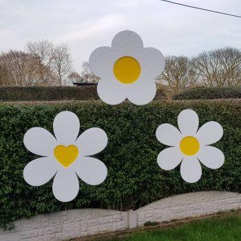 Polystyrene Hanging Easter Flower 30cm