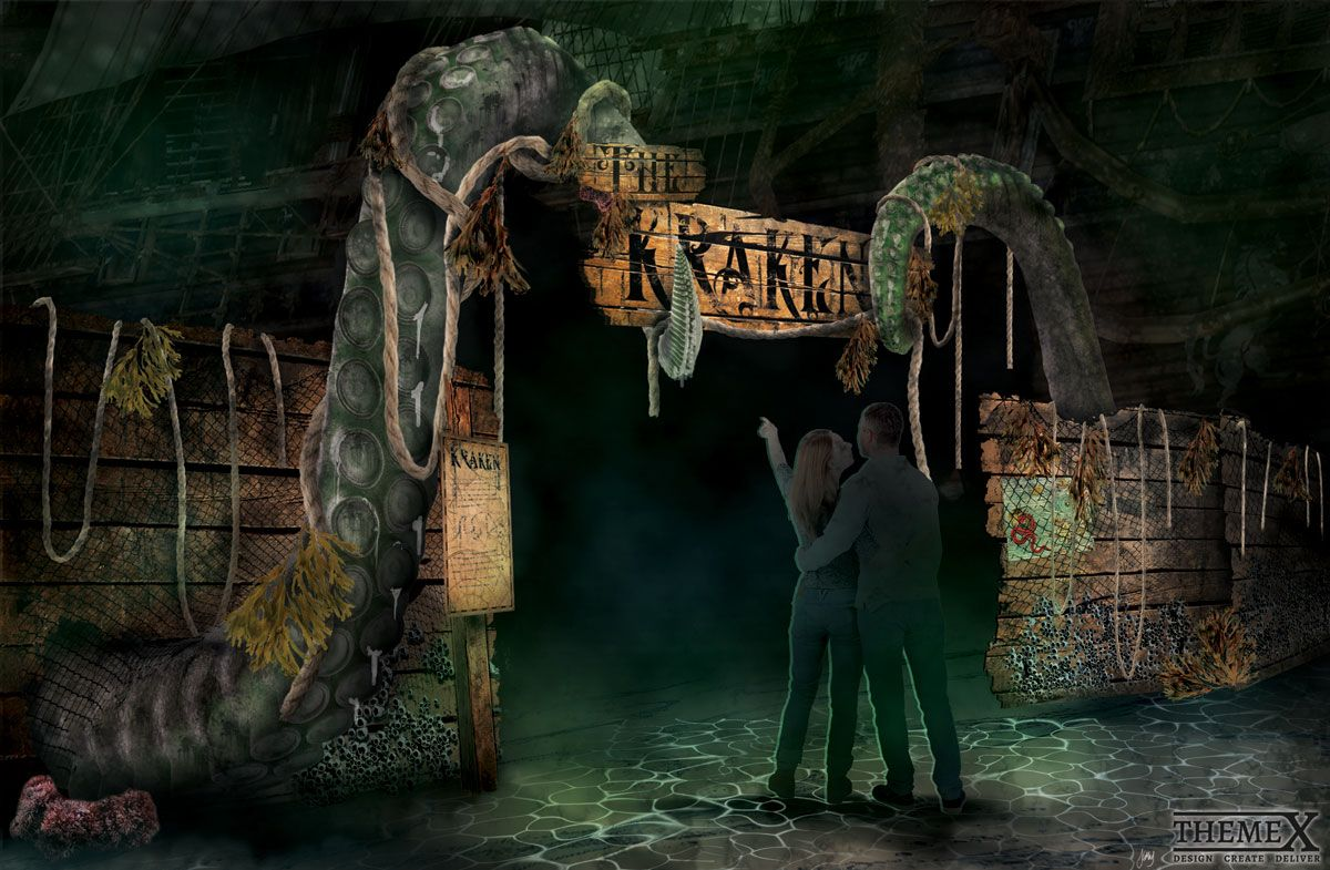 Kraken-Theming-Entrance-Concept-Design