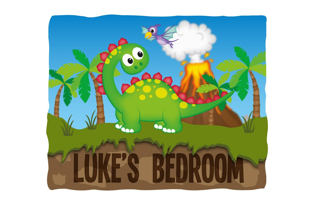 Dinosaur-Bedroom-Sign