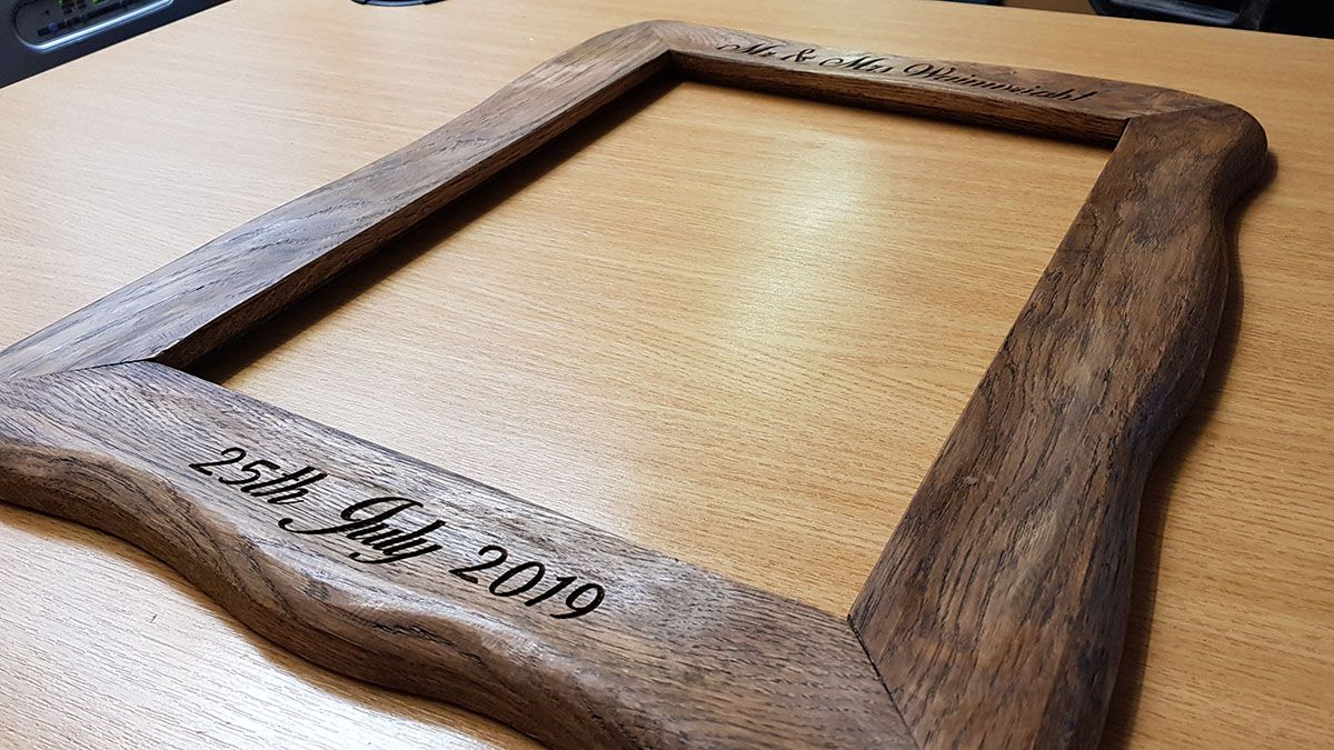 Oak Picture Frame 01