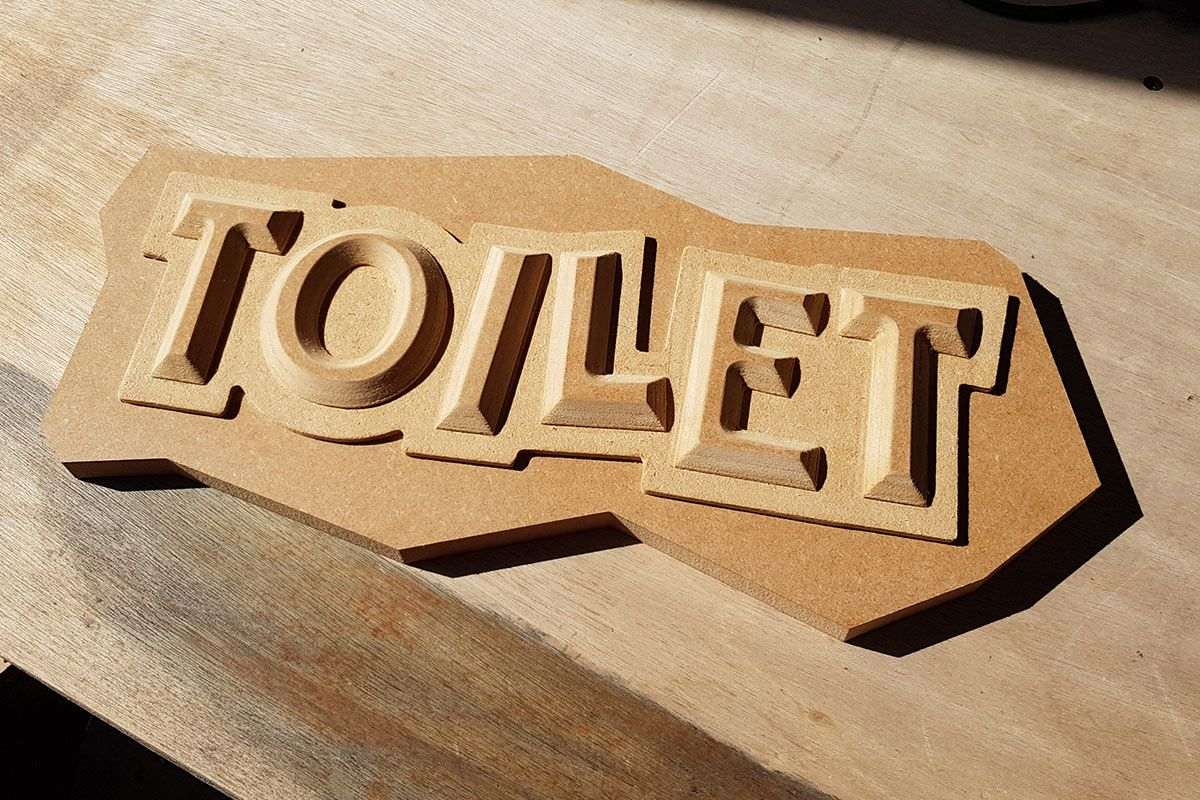 Toilet-MDF-Sign
