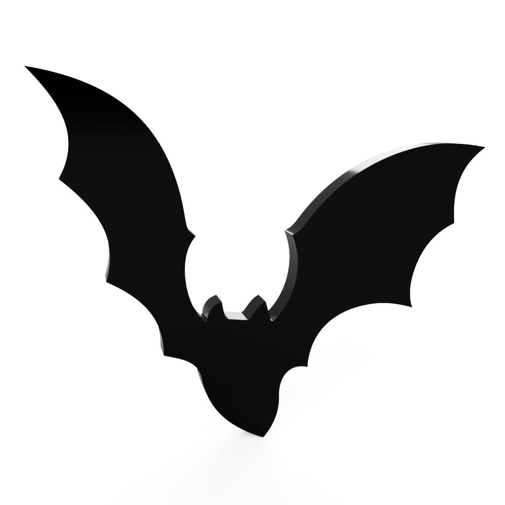 Bat Acrylic Wall Prop Decoration