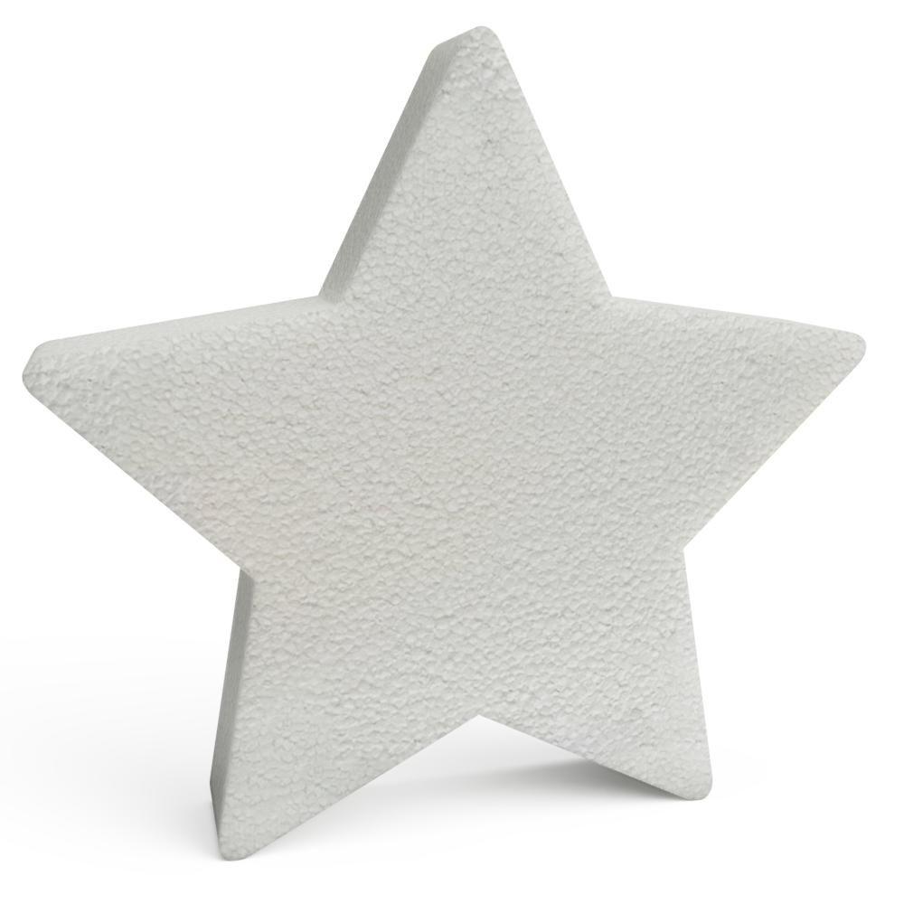Polystyrene Christmas Stars 150mm