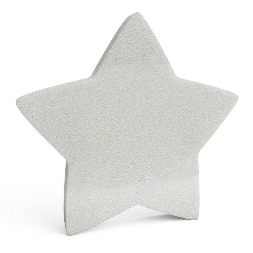 Polystyrene Christmas Stars 150mm x10