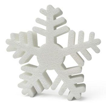 Polystyrene Snowflakes (B) 200mm x10