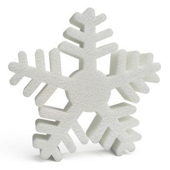 Polystyrene Snowflakes (B) 250mm x10