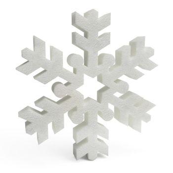 Polystyrene Snowflakes (C) 150mm x10