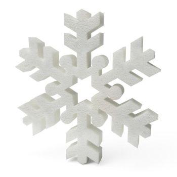 Polystyrene Snowflakes (C) 200mm x10