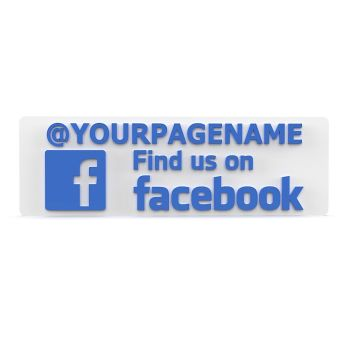 Follow Us On Facebook Sign